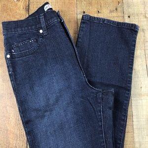 Lee Classic Fit Dark Wash Straight Leg Jeans DD15